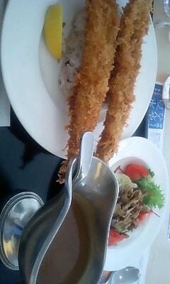 ロイホで食べた穴子カレーには、さすがにぶったまげたよ.。ooO(゜ペ/)/